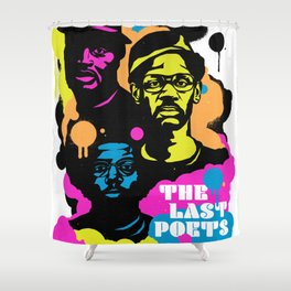 Soul Activism :: The Last Poets Shower Curtain