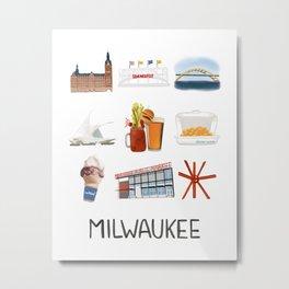 Milwaukee, Wisconsin Metal Print