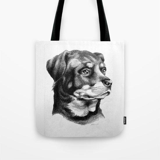 Rottweiler Devotion Tote Bag