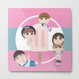 Seventeen Kpop - Very Nice - Vocal Unit Metal Print
