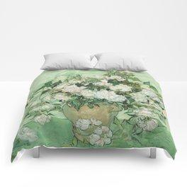 Vincent van Gogh - Roses Comforters