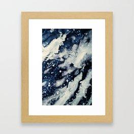 Under the snow Framed Art Print