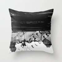 code Throw Pillows featuring code by sladja