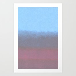 water color Art Print