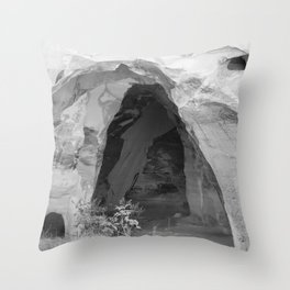 Old Bell Cave from Israel Throw Pillow