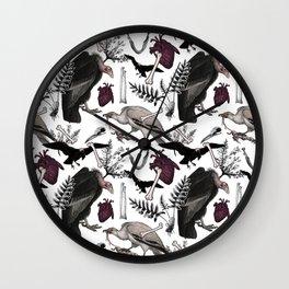 Vulture Culture Wall Clock