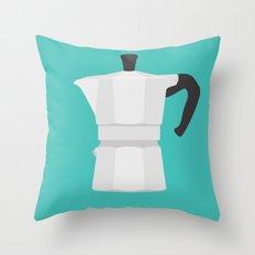 #67 Bialetti Throw Pillow