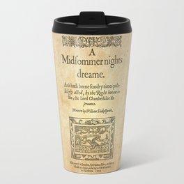 Shakespeare. A midsummer night's dream, 1600 Travel Mug