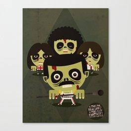 queen zombies Canvas Print