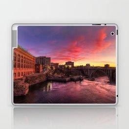 Monroe Bridge Sunset View Laptop & iPad Skin