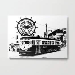 Fisherman Wharf, San Francisco Metal Print