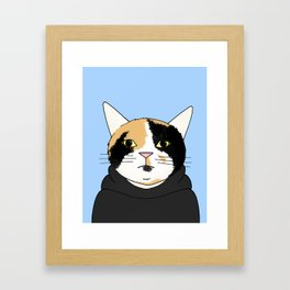 Street Cat Framed Art Print