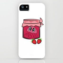 Cute and attractive tee design made perfectly for jam lovers like you!  iPhone Case