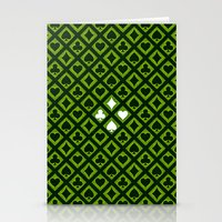 suits Stationery Cards featuring Card Suits by Diogo Coito