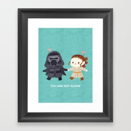 Reylo - Just the two of us Framed Art Print