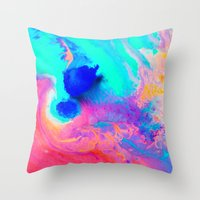 Swoosh Throw Pillow