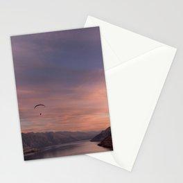 Sunset over Lake Wakatipu Stationery Cards