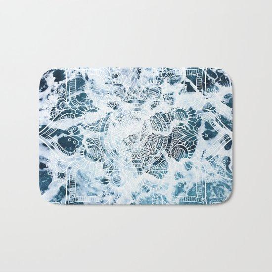 Ocean Mandala - My Wild Heart Bath Mat