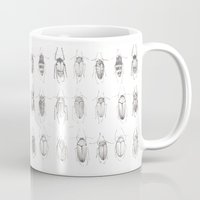 bugs Mugs featuring Bugs by Emma Kelly