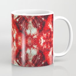 kaleidoscope tie-dye ancient resist-dyeing techniques textile Coffee Mug