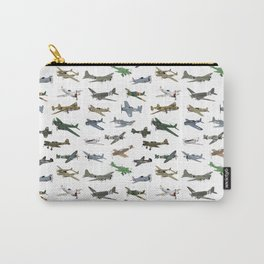 Various WW2 Planes Carry-All Pouch
