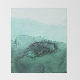 inkblot pastels 2 Throw Blanket
