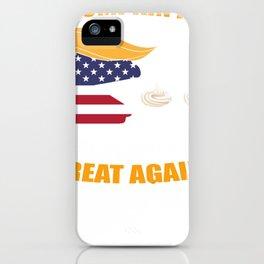 Trumpkin Pie Trump Pumpkin Make Thanksgiving Great Again iPhone Case