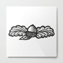 Acorn Metal Print