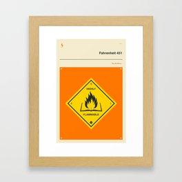 °F 451 Framed Art Print