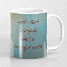 Wonderful World Coffee Mug