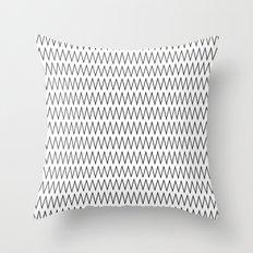 Minimalist Chevron Throw Pillow