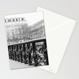 Classic Paris - Black and White Travel Photography Stationery Cards