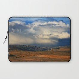 Distant Summer Rainstorm Laptop Sleeve