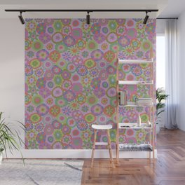 Millefiori-Fairytale Colors Wall Mural