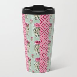 Dried Roses and light pink  Travel Mug