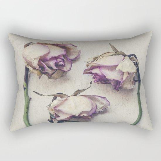 Vintage Roses II Rectangular Pillow