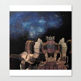 Chromedome & Rewind Canvas Print
