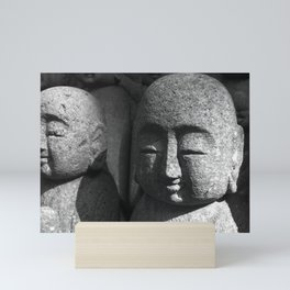 Japanese Temple Statues Mini Art Print