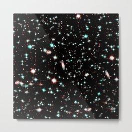 Nebula texture #40: Sparkles Metal Print