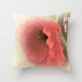Poppies silken Throw Pillow