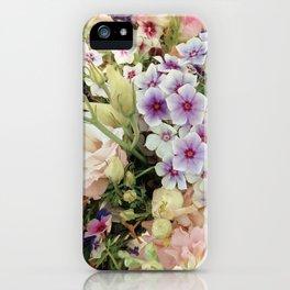 Vibrant Bouquet iPhone Case