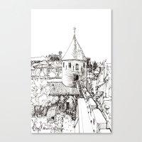 garden tower Canvas Print