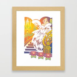 Anti-Bellum Framed Art Print