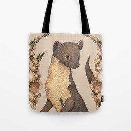 The Marten and Foxglove Tote Bag