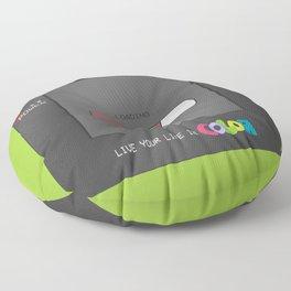 Gameboy Color (green) Floor Pillow
