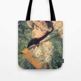 Le Printemps, Edouard Manet Tote Bag