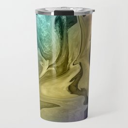 Liquid Abstract Travel Mug