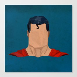 Antique Superman Canvas Print