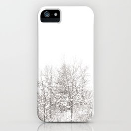 Whiter Than iPhone Case