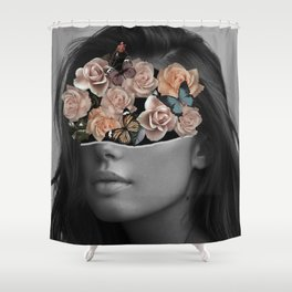 Mystical nature's portrait II Shower Curtain